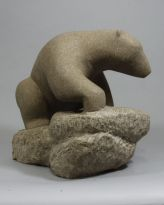 Bear - Canadian Stone Carving Festival 2017